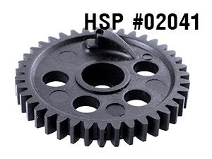 Hsp 02041 Diff Gear 39t Rc Hsp 1 10 Scale On Road Car Part hsp 1 10 2nd spur gear 39t 02041 hsp