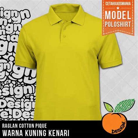 Kaos Kode Ng Merah kaos polo kerah polos dengan bahan cotton combat pique