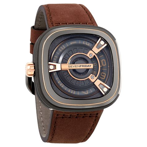 Jam Sevenfriday M2 Brown seven friday m series automatic black mens m2 2