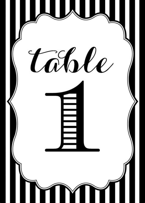 7 Best Images Of Table Numbers Free Printable Template Printable Table Numbers Free Printable Free Table Number Templates