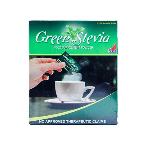 Diabetasol Sweetener 50 Sachet 1gr green stevia 1g sachet box of 100s the diabetes store