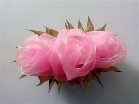 tutorial rose in organza 17 mejores ideas sobre flores de organza en pinterest