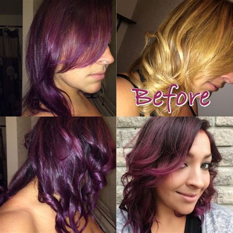 4vr hair color joico vero kpak 4vr and 4fv with paul mitchell violet