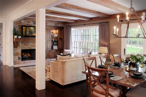 casual family room ideas cozy hearth and casual family eating area contemporary