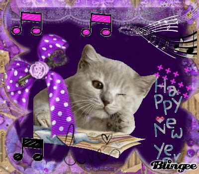 new year cat images cat saying happy new year picture 120236001 blingee