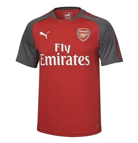 arsenal jersey 2018 2017 2018 arsenal puma training jersey chilli pepper for