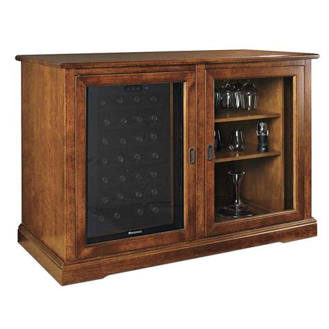Wine Credenza Refrigerator wine enthusiast siena mezzo wine credenza 28 bottle touchscreen wine cooler 335 92 02 the home