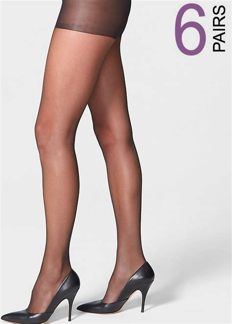 Buy Uk Tights Super Saver 10 Denier High Sheen Nylons