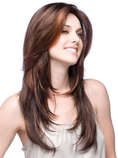feathered haircuts for round faces 25 best feathered hairstyles long hairstyles 2015 hair