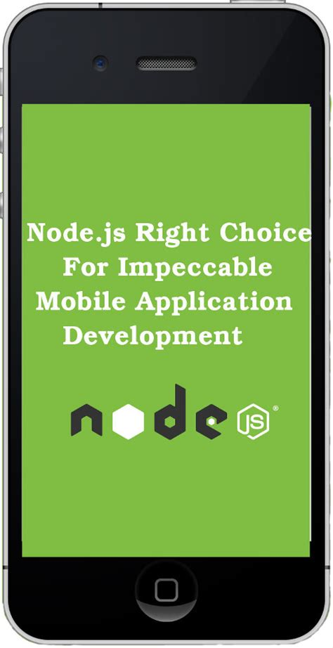 developing mobile apps 7 reasons for developing mobile apps with node js dealfuel