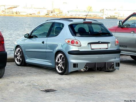 Auto Tuning Jena by Peugeot 206 Wallpaper Free Download
