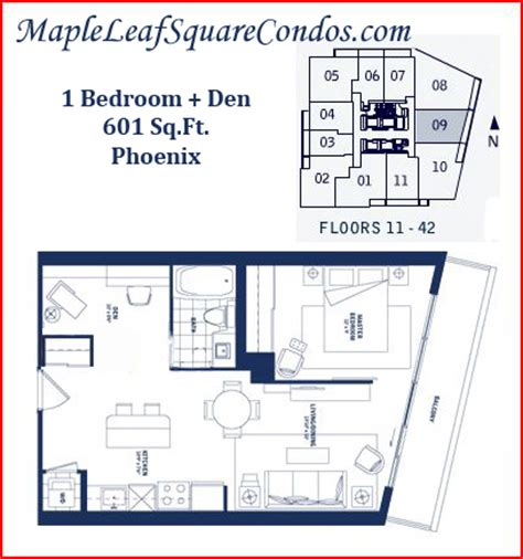 one bedroom with den listings