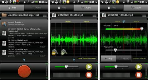 recording app for android best android apps for singers android authority