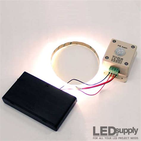 battery led light strips led motion sensor light battery powered