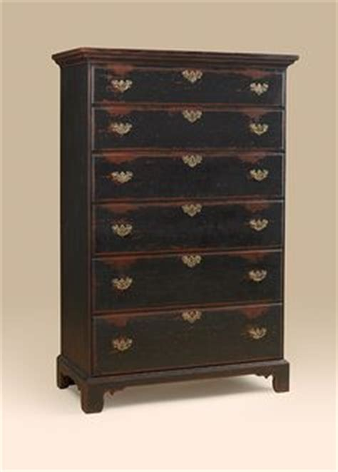 hungerford solid cherry colonial style 7 drawer bedroom 1960s maple dresser early american solid wood by