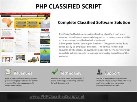 php classified ad scripts free commercial and open classified script business models