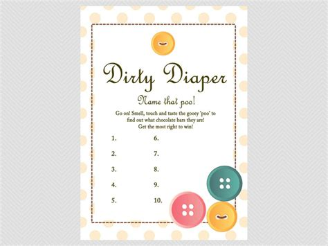 diaper template for baby shower game poopy diaper game template google search baby shower