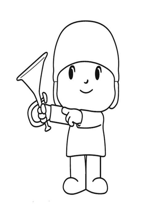 dibujos para colorear pocoyo free coloring pages of pocoyo valentine