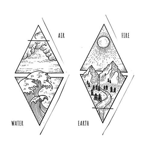 design elements tattoo thatd be a nice tattoo definitely single needle work