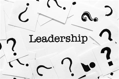 7 questions about the basics of leadership