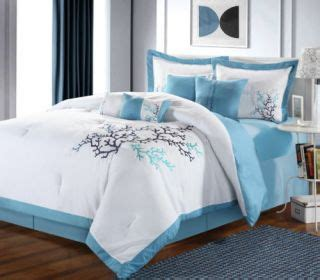 coral bed in a bag coral reef blue marlin bedding full comforter set on popscreen