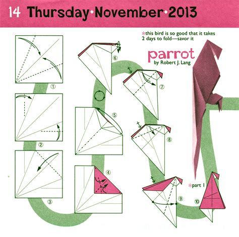 How To Make A Paper Parrot Step By Step - corona navide 241 a hecha con papel y la t 233 cnica de doblado