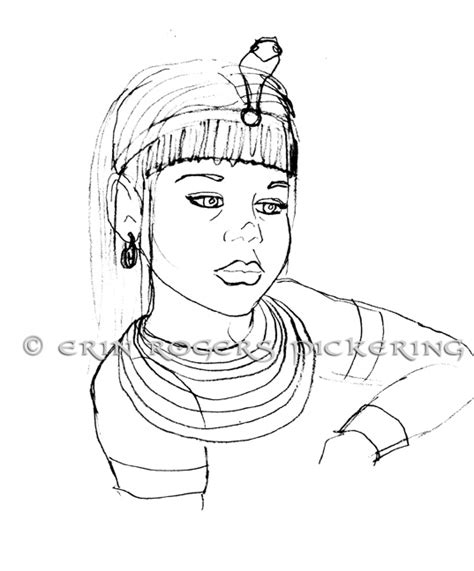 cleopatra pages coloring pages