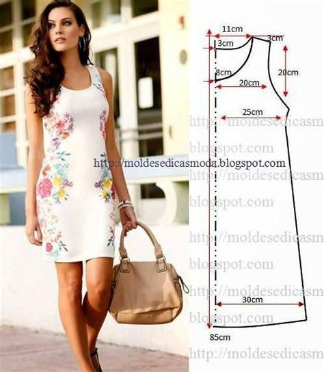 pattern dress simple moldesedicasmoda blogspot com patterns for dress