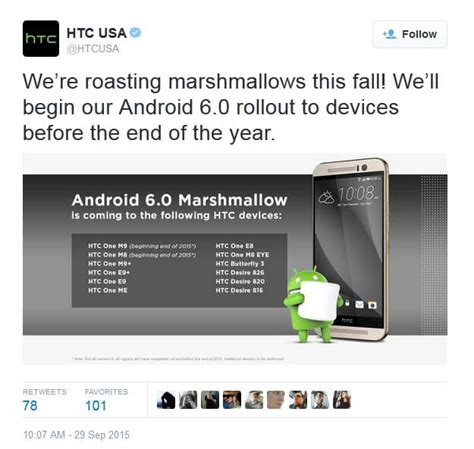 android 6 0 release date android 6 0 marshmallow release date for htc m8 m9 by end of year christian news on christian