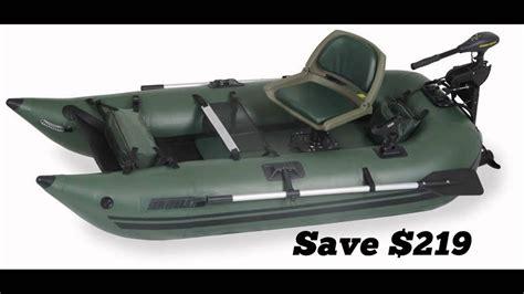inflatable one man pontoon boats one man pontoon boats youtube