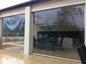 clear plastic blinds for outdoors pvc ziptrak gallery