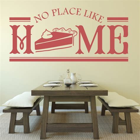 place home wall stickers kitchen badge wall art