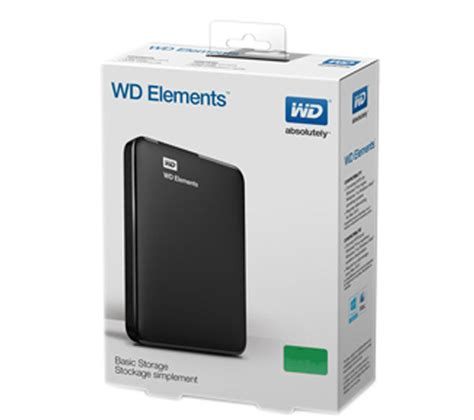 Harddisk Wd Element 1tb buy wd elements portable drive 1 tb black free delivery currys