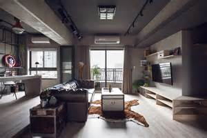 Marvel themed industrial bachelor s apartment in taiwan