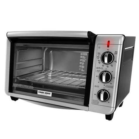 Black And Decker Convection Toaster Oven black decker to3230sbd 6 slice convection toaster oven black