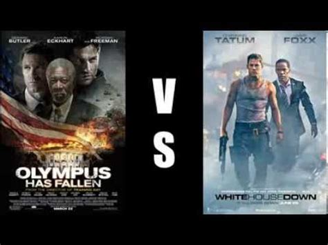 white house down vs olympus has fallen copy cat fight olympus has fallen vs white house down youtube