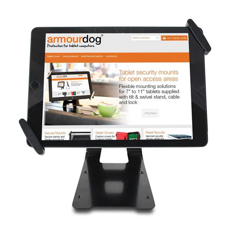 10 Tablet Security Mount - armourdog 174 security mount for 10 quot to 13 quot tablets with