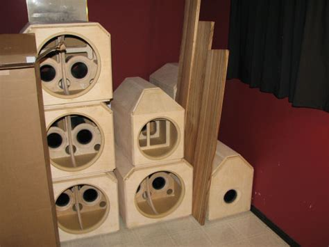 custom subwoofer  mid bass enclosures home theater