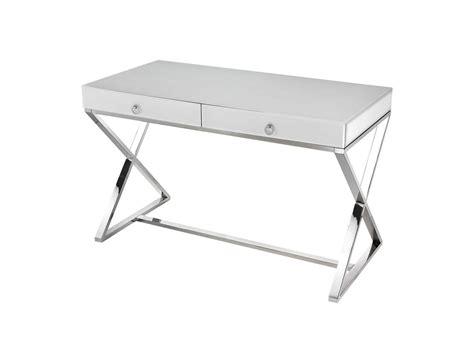 Desk Lazy Susan by Lazy Susan 48 X 24 Rectangular White Glass Desk 1141105