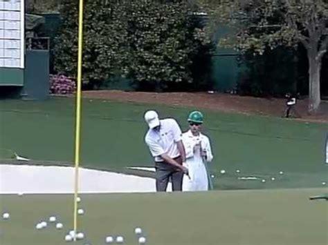steve stricker golf swing slow motion steve stricker slow motion chip shot face on angle