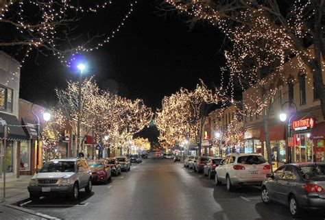 lights naperville il shedding a light on downtown naperville sun
