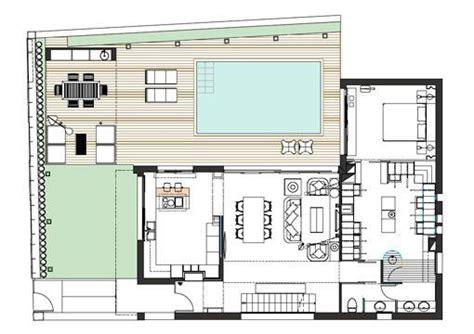 Modern Ranch House by Casa Moderna Y Familiar Con Piscina