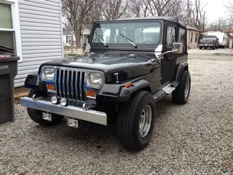 Two Door Jeeps For Sale Purchase Used 1989 Jeep Wrangler Laredo Sport Utility 2