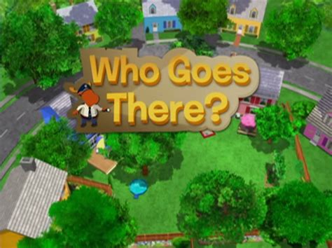 Backyardigans Who Goes There Who Goes There The Backyardigans Wiki Fandom Powered