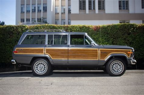 1989 jeep wagoneer for sale bat exclusive better than new 1989 jeep grand wagoneer