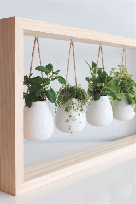 indoor herb garden ideas  kitchen herb planters