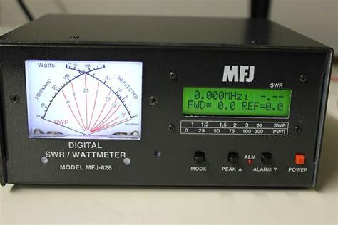 Swr Meter Digital cbradiomagazine mfj 828 digital swr watt meter
