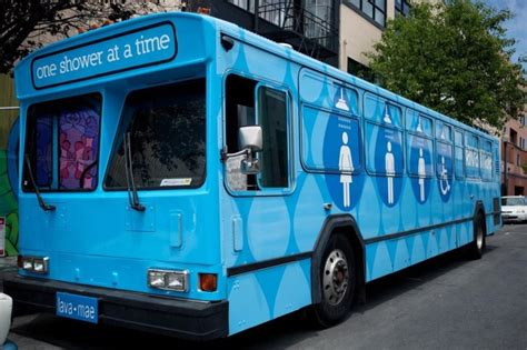 Mobile Showers For The Homeless by Lava Mae Brings Mobile Showers To San Francisco S Homeless