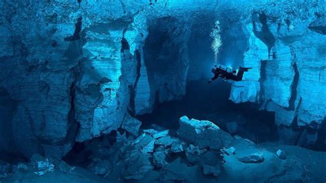 underwater hd wallpaper 1920x1080 landscapes cave russia underwater wallpaper allwallpaper
