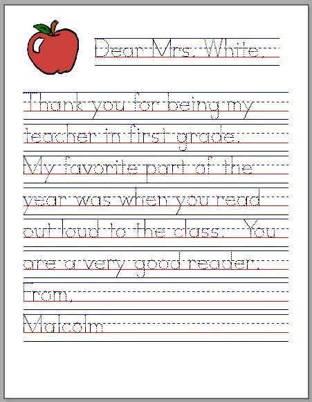 thank you letter after kindergarten thank you letter esl worksheet tips for writing a thank